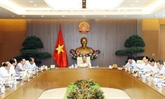 Réunion de la permanence du gouvernement à Hanoï