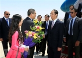 Le président Trân Dai Quang entame sa visite d'État en Égypte