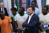 Italie: Salvini visé par la justice, les migrants du Diciotti libres de débarquer