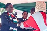 L'ancien président zimbabwéen Mugabe félicite Mnangagwa pour son investiture