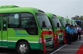 Efficacités remarquables des minibus à Hanoï