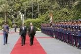 Le Vietnam et l'Égypte affirment leur volonté d'approfondir leurs liens