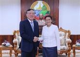 Des dirigeants laotiens apprécient la coopération avec le Vietnam