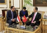 Le Vietnam et l'Égypte publient une déclaration commune