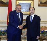 Le président Trân Dai Quang termine sa visite d'État en Égypte