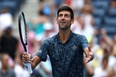 US Open: Djokovic se fait une frayeur
