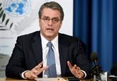 Le chef de l'OMC appelle à préserver l'ordre commercial mondial