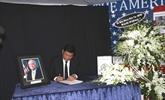 Hô Chi Minh-Ville rend hommage au sénateur américain John McCain
