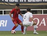 Le Vietnam battu 1-3 par la République de Corée en demi-finale des ASIAD 2018