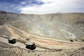 Chili: menace de grève à la plus grande mine de cuivre au monde