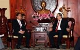 Resserrer les relations de coopération entre Hô Chi Minh-Ville et le Japon