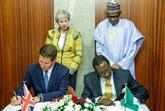 Le Nigeria et la Grande-Bretagne signent des accords de coopération