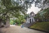 Beauté du temple Bà Triêu à Thanh Hoa