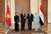 Succès des visites du président vietnamien en Éthiopie et en Égypte