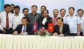 Vietnam - Cambodge: renforcer la coopération entre An Giang et Takeo