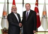 Le chef de la diplomatie iranienne rencontre le président turc