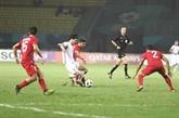 Première: le football vietnamien en demi-finales des ASIAD 18
