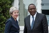 Au Kenya, May insiste sur un