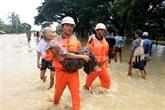 Le Myanmar travaille à surmonter les conséquences de la rupture de barrage