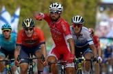 Tour d'Espagne: Bouhanni gagne un sprint libérateur