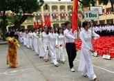 Le chef de l'État souhaite une bonne nouvelle année scolaire au secteur de l'éducation