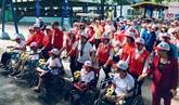 Environ 5.000 personnes marchent pour les personnes handicapées