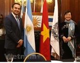 Une délégation de Hô Chi Minh-Ville à Buenos Aires pour resserrer les liens d'amitié