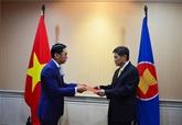 Le Vietnam est prêt à coopérer pour développer la Communauté de l'ASEAN