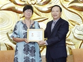 L'ambassadrice de Belgique au Vietnam à l'honneur