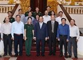 Le Premier ministre rencontre l'Association des victimes de l'agent orange/dioxine