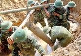 Des efforts continus pour régler les conséquences de la guerre