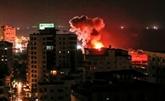 Gaza: pluie de roquettes sur Israël, riposte de l'armée, trois Palestiniens tués dont un nourrisson