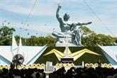 À Nagasaki, le patron de l'ONU souligne l'urgence de la dénucléarisation