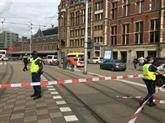 Deux blessés graves lors d'une attaque au couteau à la gare d'Amsterdam