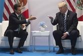 Trump informe le Congrès de son intention de signer un accord commercial avec le Mexique