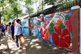 Inauguration du projet de fresques murales intitulé
