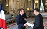 L'ambassadeur du Vietnam en France présente ses lettres de créances