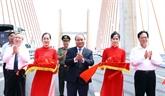 Quang Ninh: le chef du gouvernement inaugure l'autoroute Ha Long - Hai Phong