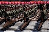 Défilé sans missiles intercontinentaux à Pyongyang