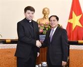 L'envoyé spécial non résident du Saint-Siège reçu à Hanoï