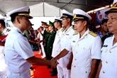 Un destroyer de la Marine sud-coréenne visite Dà Nang