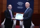 Le ministre des Sciences et des Technologies reçoit le président exécutif du WEF