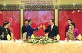 Cérémonie d'accueil en l'honneur du président indonésien Joko Widodo