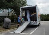 L'ouragan Florence s'approche de la côte Est américaine, la population se prépare