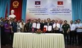Vietnam - Cambodge: An Giang renforce sa coopération avec Kandal