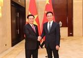 Vietnam - Chine: entretien entre deux vice-Premiers ministres à Nanning