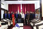 Échanges entre jeunes vietnamiens et indiens