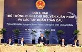 Le Premier ministre dialogue avec des groupes multinationaux