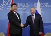 La Chine et la Russie souhaitent faire progresser leur coopération au niveau local