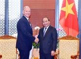 Le Premier ministre vietnamien reçoit le président du groupe GE Global